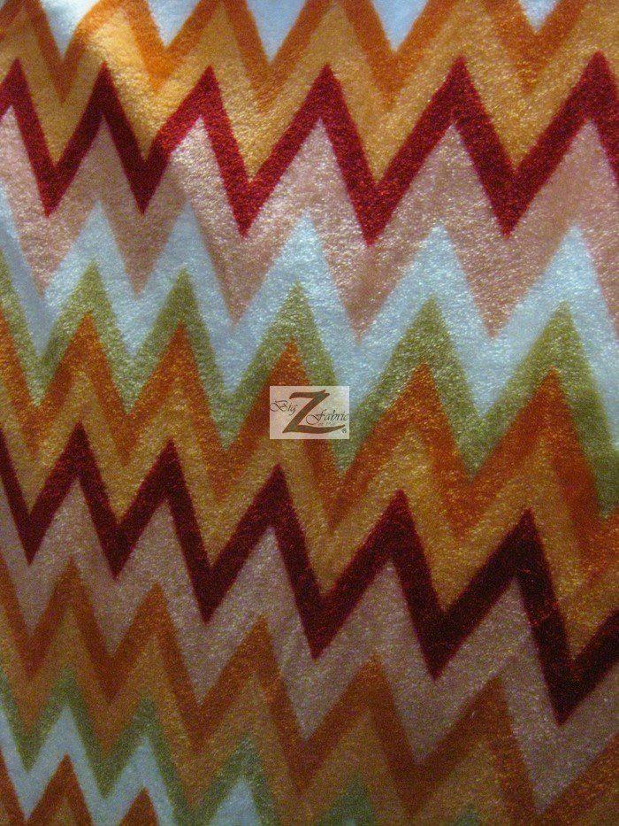 Wholesale chevron zig zag microfleece fabric wholesale for Fleece fabric