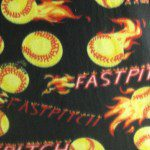 Wholesale Baseball Polar Fleece Fabric Fast Pitch