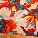 Superman DC Comics Polar Fleece Fabric Its Superman
