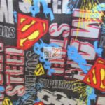 Wholesale Superman DC Comics Polar Fleece Fabric Retro