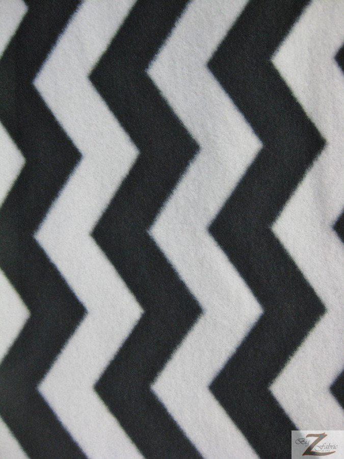 Wholesale Zig Zag Chevron Polar Fleece Fabric   Wholesale Polar ...