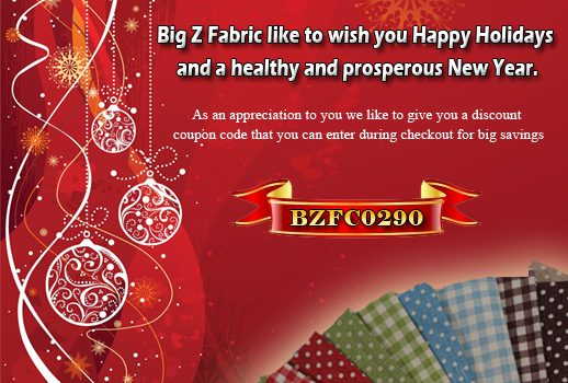 Special Holiday Discount To Buy Fleece Fabric