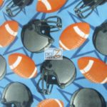 Wholesale Football Polar Fleece Fabric Life