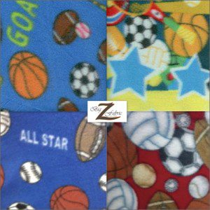 Wholesale Sports Mix Polar Fleece Fabric