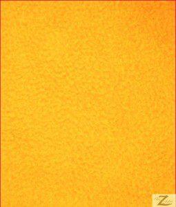Wholesale Solid Polar Fleece Fabric Golden Yellow