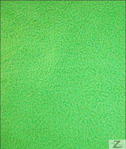 Wholesale Solid Polar Fleece Fabric Lime Green