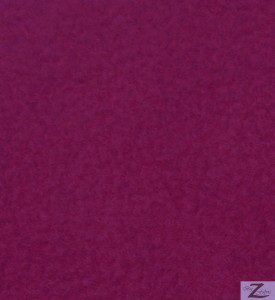 Wholesale Solid Polar Fleece Fabric Magenta