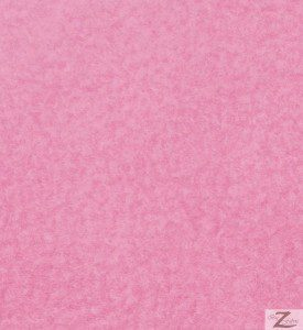 Wholesale Solid Polar Fleece Fabric Pink