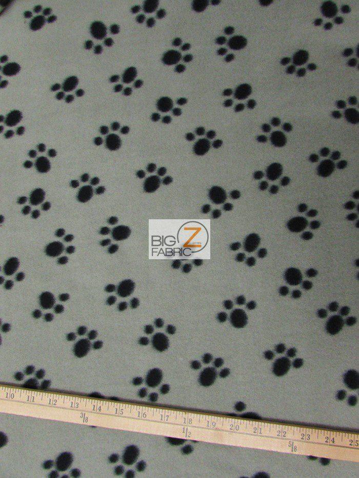 Wholesale paw print fleece fabric wholesale polar fleece for Fleece fabric childrens prints