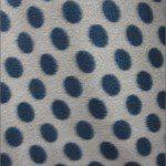 Wholesale Polka Dot Fleece Fabric Light Brown Black Dots