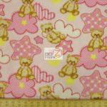 Baby Animal Fleece Fabric Teddy Bear