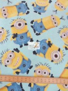 Despicable Me Minions Fleece Fabric
