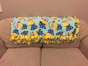 Minions Soft Fleece Fabric Blanket