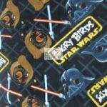 Wholesale Star Wars Fleece Fabric Angry Birds Clash