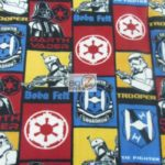 Wholesale Star Wars Fleece Fabric Sith Villains