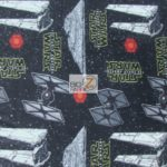 Wholesale Star Wars Fleece Fabric The Force Awakens Space Invasion