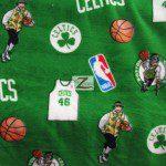 NBA Polar Fleece Fabric Boston Celtics