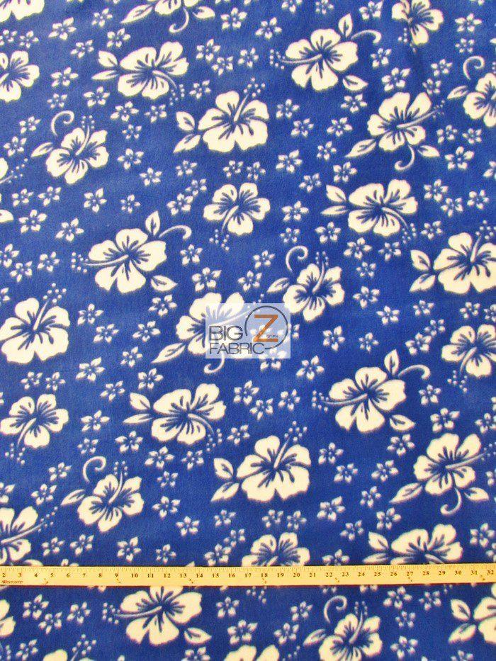 Wholesale flower hawaiian fleece fabric wholesale polar for Cheap cloth material