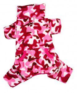 Camouflage Fleece Dog Pajamas