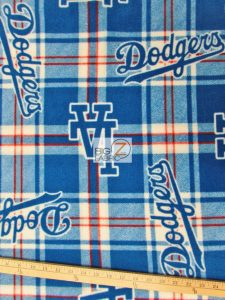 Los Angeles Dodgers Polar Fleece Fabric