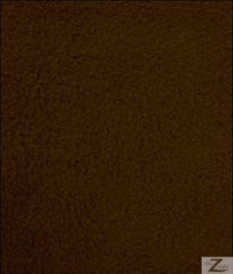 Brown Wholesale Polar Fleece Fabric