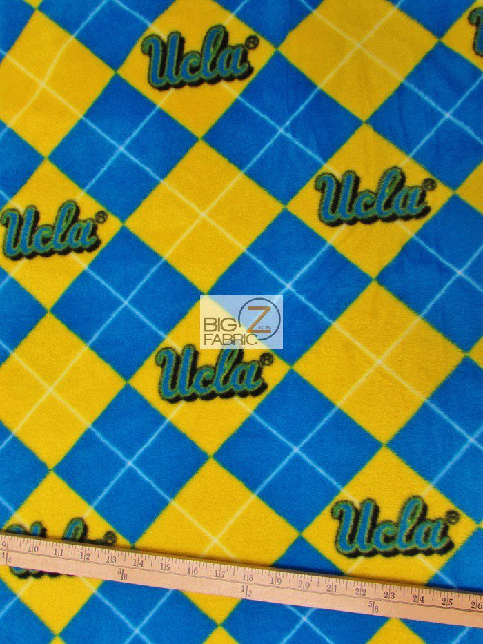 UCLA Bruins Polar Fleece Fabric