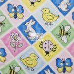 Wholesale Ladybugs Fleece Fabric Diamonds