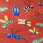 Wholesale Ladybugs Fleece Fabric The Insect Family