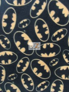 Batman DC Comics Emblem Toss Polar Fleece Fabric