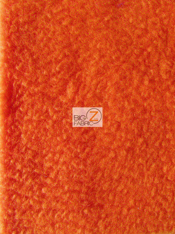 Candy Orange Wholesale Polar Fleece Fabric