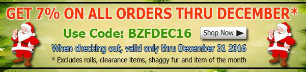 Big Z Fabric December Polar Fleece Fabric Discount Coupon