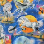 Wholesale Fleece Fabric Mystical Unicorns