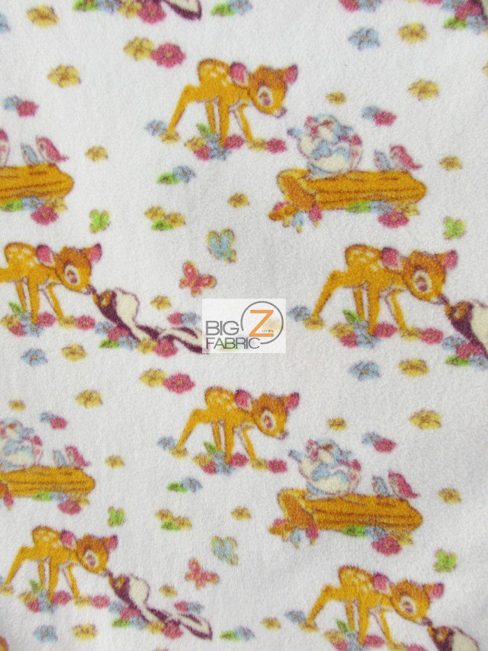 Disney Bambi & Friends Polar Fleece Fabric