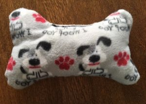 Handmade Fleece Dog Toy