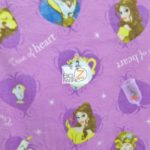 Belle & Beast All Over Disney Polar Fleece Fabric