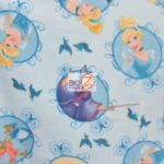 Cinderella Badge Disney Polar Fleece Fabric