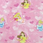 Princess Frame Disney Polar Fleece Fabric