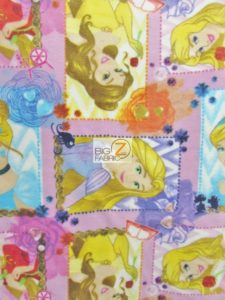 I Am A Princes Patch Polar Fleece Fabric