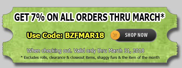 Big Z Fabric March Madness Polar Fleece Sale!!!