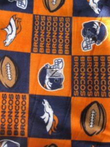 Denver Broncos Fleece Fabric