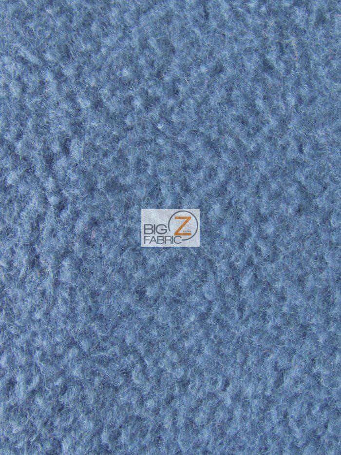 Denim Blue Wholesale Polar Fleece Fabric