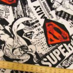 Superman DC Comics Polar Fleece Fabric News
