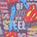 Superman DC Comics Polar Fleece Fabric Man Of Steel