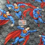 Wholesale Superman DC Comics Polar Fleece Fabric All Over