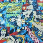 Wholesale Superman DC Comics Polar Fleece Fabric Wonder Woman