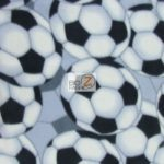Wholesale Soccer Football Polar Fleece Fabric Classic