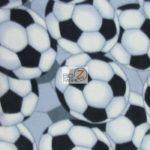 Wholesale Soccer Football Polar Fleece Fabric Classic