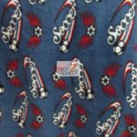Wholesale Soccer Football Polar Fleece Fabric Logo