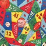 Wholesale Sports Mix Polar Fleece Fabric Is Life