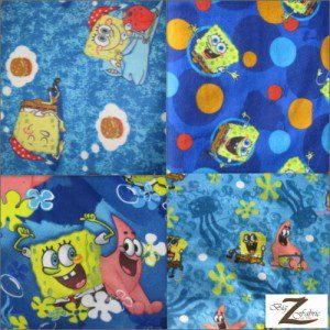 SpongeBob SquarePants Polar Fleece Fabric